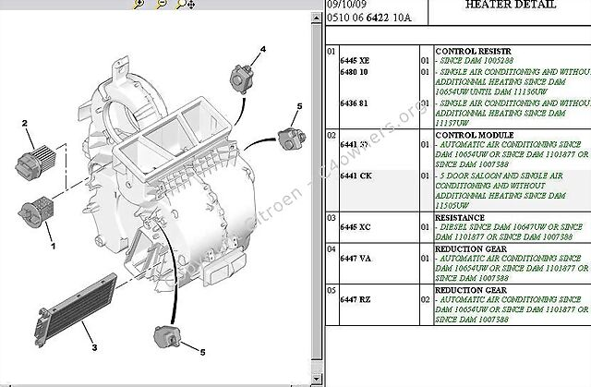 citroen picasso heater wiring diagram  | 986 x 554