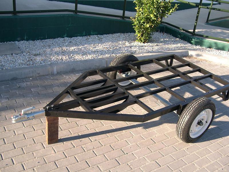Homemade motorcycle trailer 21539F2BBA3B535FEE4E39535FE50D