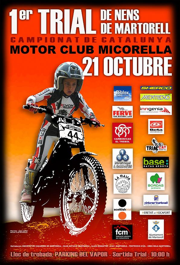 Foro motocat 1er trial de nens de martorell 21 d for Piscina municipal martorell