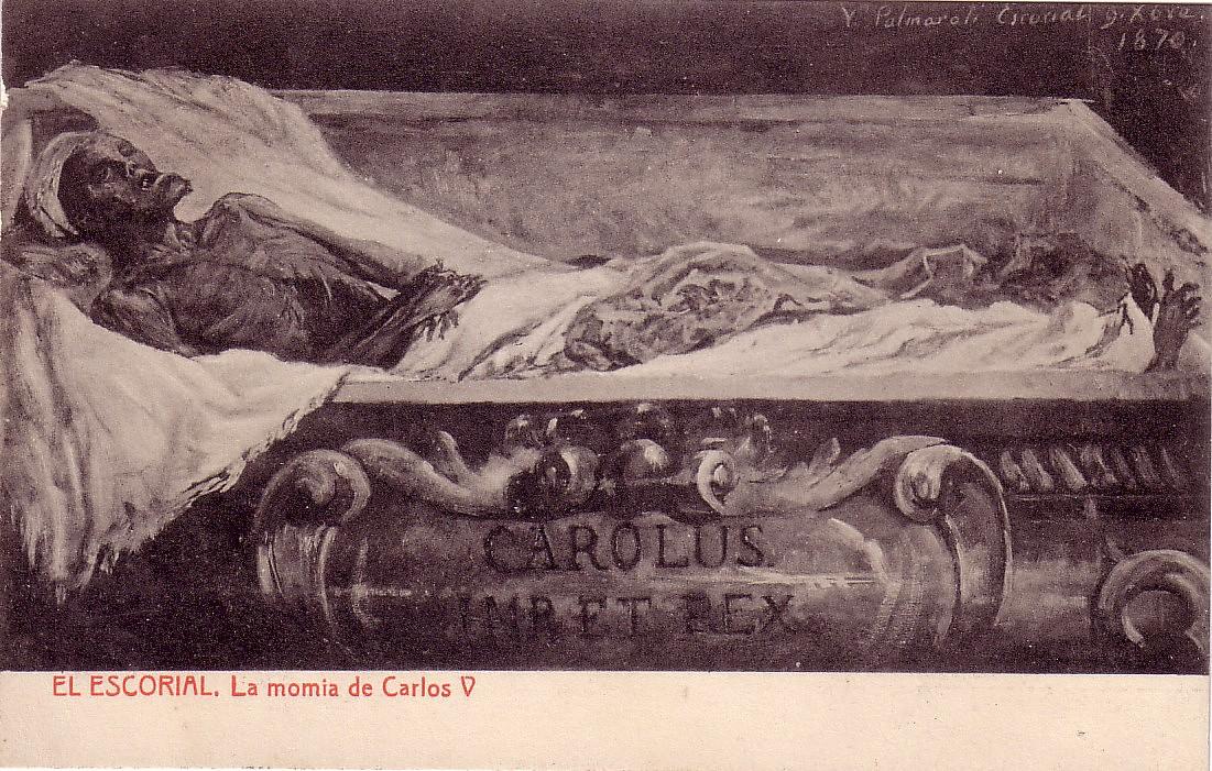 Resultado de imagen de El pudridero de el Escorial