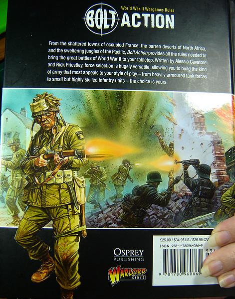 Warhammer Aqui Bolt Action Segunda Guerra Mundial 28mm