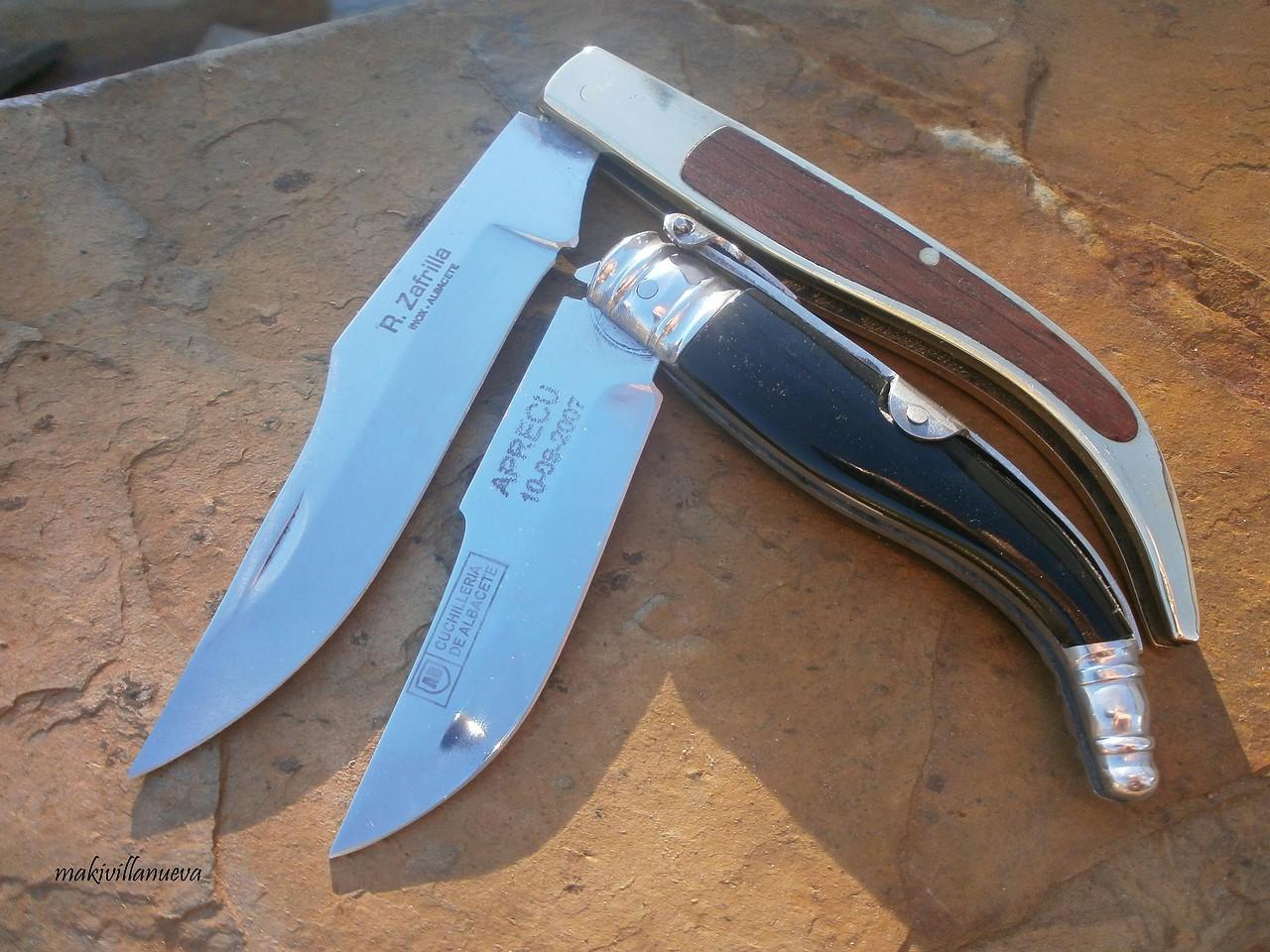 Foro armas blancas cuchillos navajas y m s dos navajas de r zafrilla muy distintas navajas - Navajas buenas ...