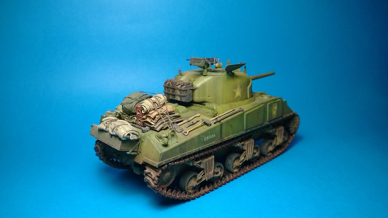 Sherman M4A4 dragon 1/35 295302E2FF22527B926432527B9178