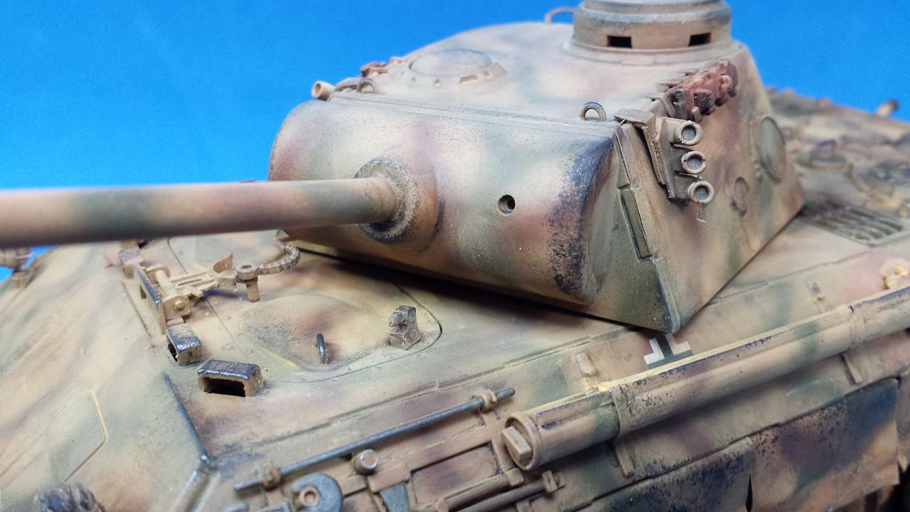 Panther Ausf D - italeri - 1/35 1C5396577A2F5321DF26365321D837