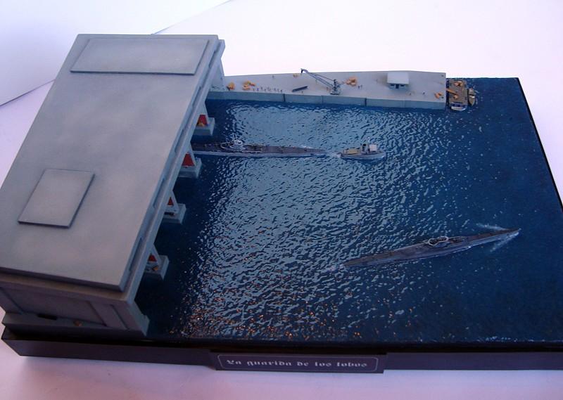 La Guarida de los lobos - Base U-Boat 1/700 3252FD1566345294E4DA335294E34D