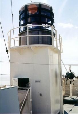 Radar tipo 271 como el que montaron muchos cruceros auxiliares