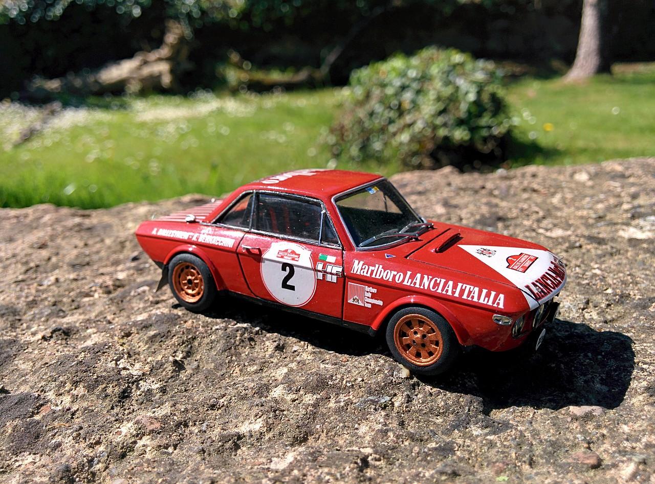 Lancia Fulvia San Remo 72. Racing 43 a escala 1/43 2E5400071837537205FC35537205DF