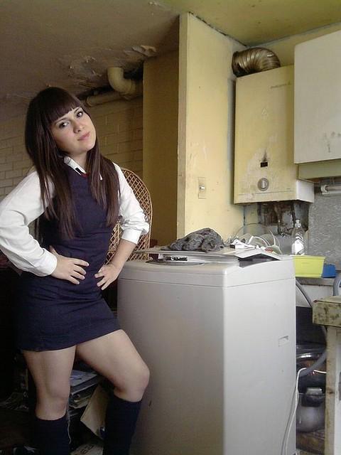 Bajo falda de mi novia - 1 2