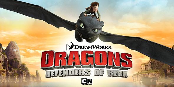 Dragones Defensores de Berk S02 WebDL Ligero Latino