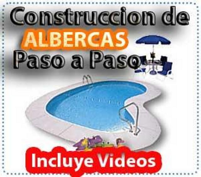Curso de construccion de piscinas planos videos for Planos estructurales de piscinas