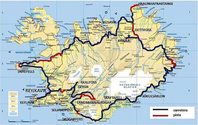 Basauritik Mundura Motorrez Islandia En Moto