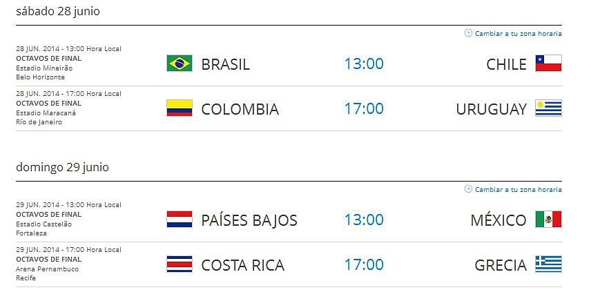La Cuadrilla del Halcón - Hablemos sobre el Mundial de Futbol 2014 ...