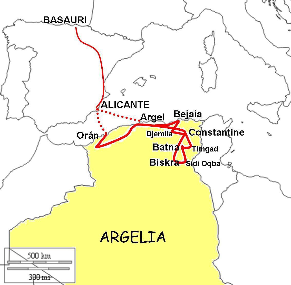 Nord-Algerien ohne Guide bereisen