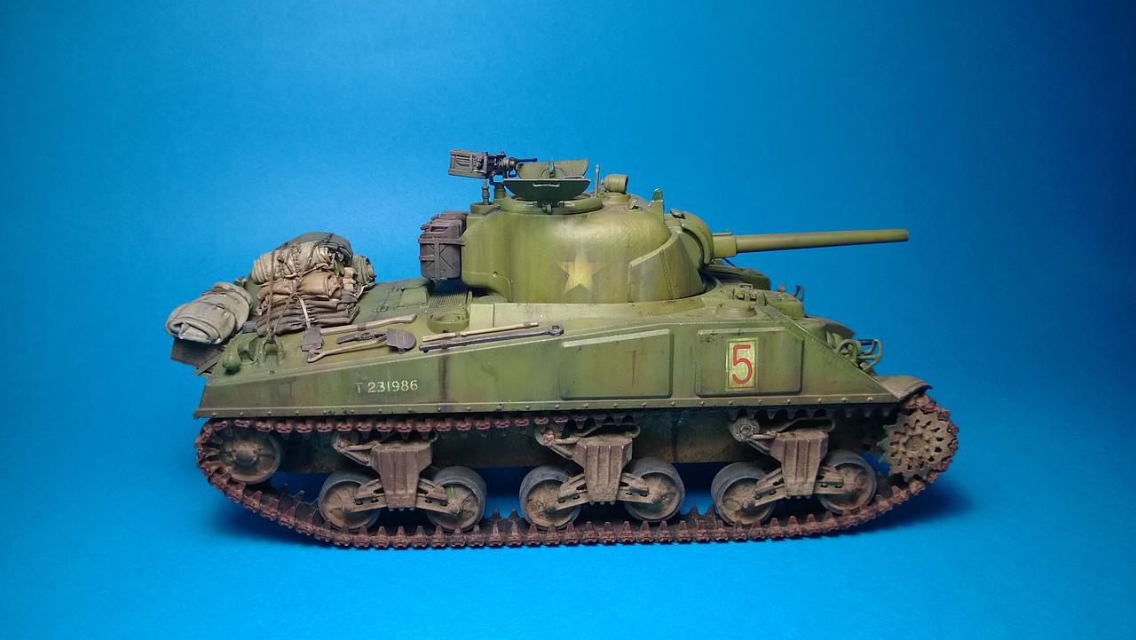 Sherman M4A4 dragon 1/35 2B5302E30123527B926534527B917A
