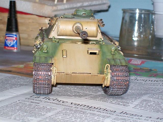 (puntocom) - Modelismo y Maquetas - Panther Ausf.D - Mesa de trabajo
