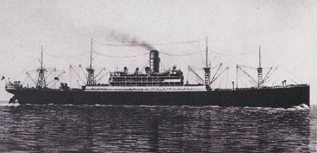 El mercante italiano Duchessa dAosta