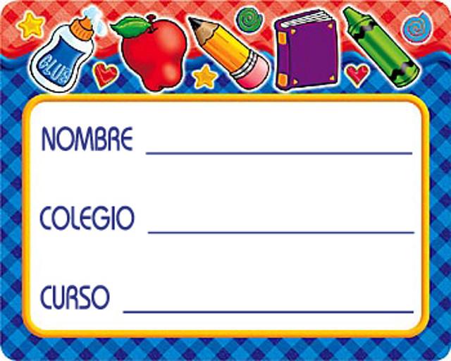 Bordes para caratulas escolares - Imagui