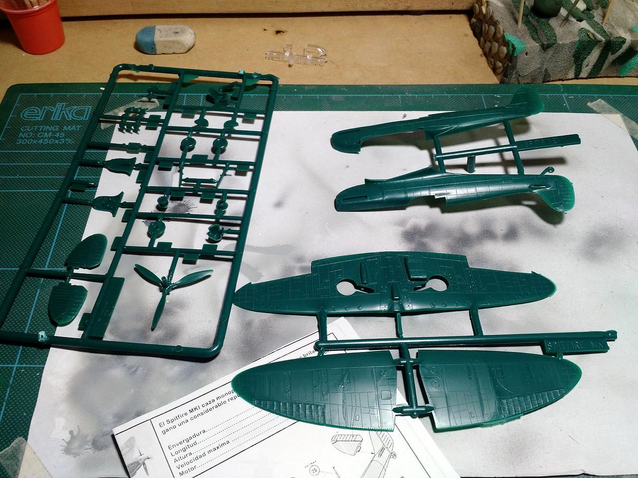 Supermarine Spitfire (modelex) 1/72 (Rusky     - unosetentaydos