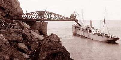 Operación de carga de un buque