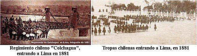 El día que Chile masacró y humilló la capital peruana