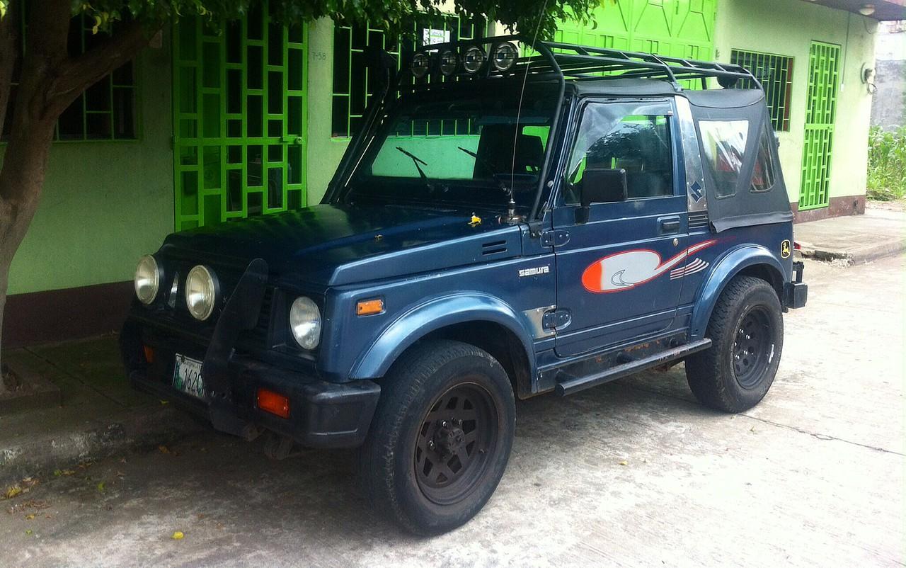 Suzuki Samurai Guatemala