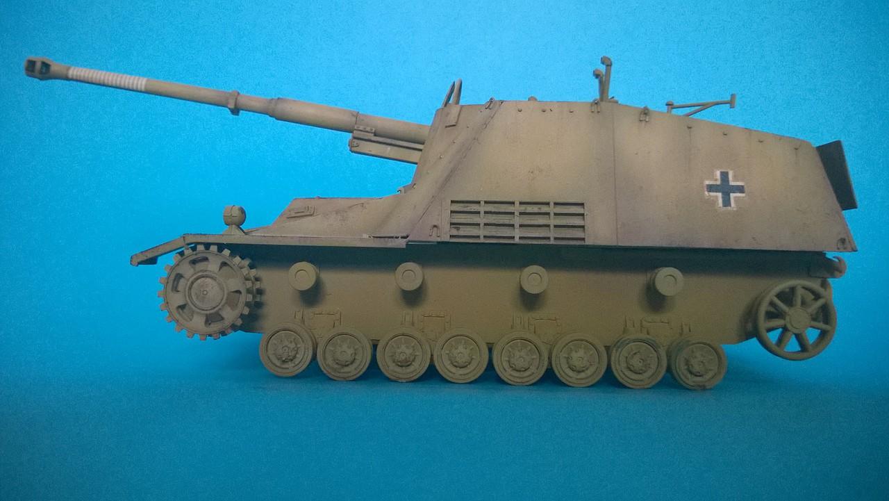 """Sd.Kfz.164 """"Nashorn"""" Dragon 1/35 2953F55CD727536E0C6532536E0B50"""