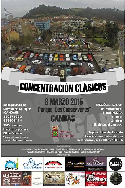 Asturias con niños: Coches clásicos en Candás