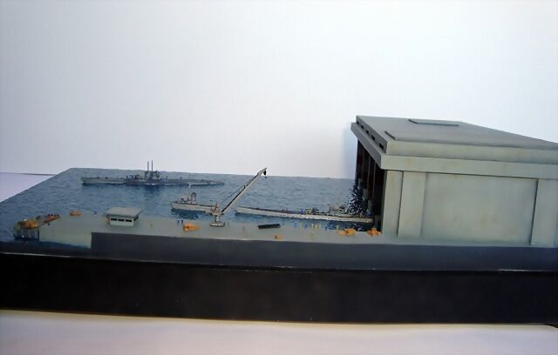 La Guarida de los lobos - Base U-Boat 1/700 2552FD1511325294E47E2F5294E2F8