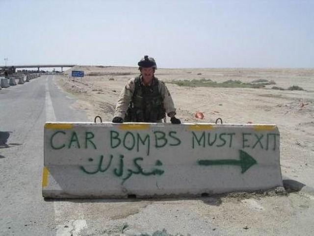 Lo que hacen los soldados en sus tiempos libres...