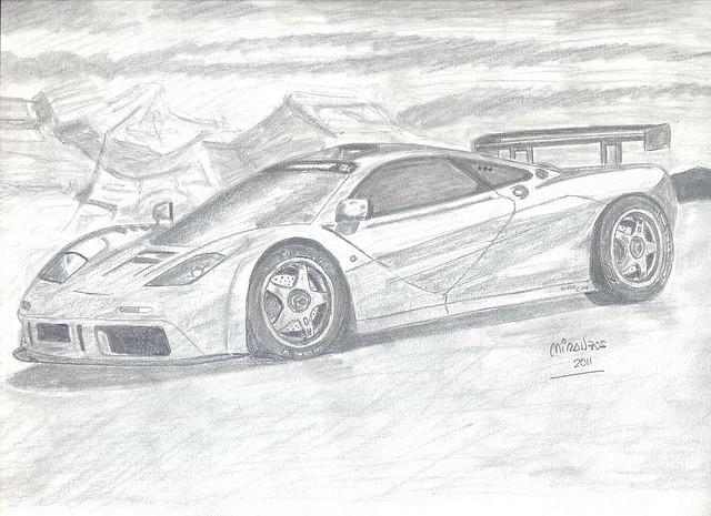 Dibujos a lapiz de carros deportivos - Imagui