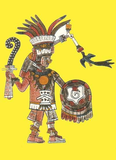 Ehecatl, dios del viento
