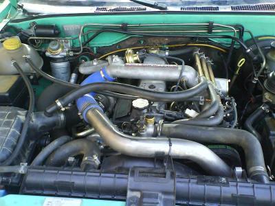 Foro 4x4 de opel isuzu fotos de la adaptaci n del motor for Amigo motors el paso tx