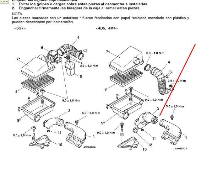 foro mitsubishi 4x4 galloper club - air power