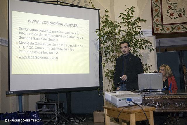 Momento de la Presentación. Foto realizada por José Reyes.