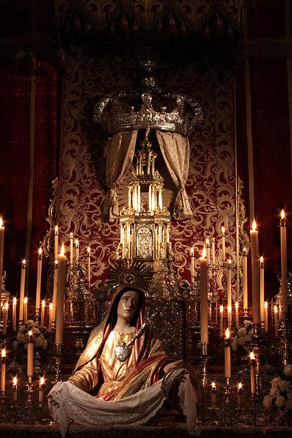 Resultado de imagen de altar del jueves santo parroquia de san juan marchena