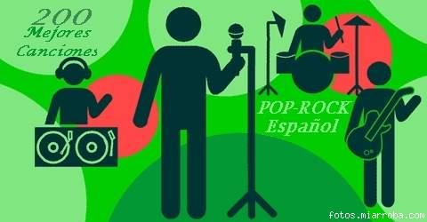 200 Mejores canciones del pop-rock español