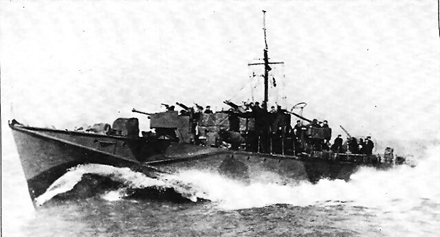 Las torpederas de la Segunda Guerra Mundial