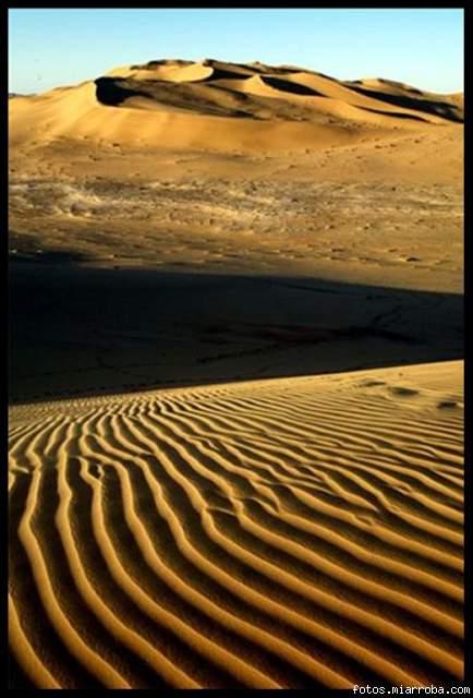 Desierto del Sahara, en al-Ramla, Libia