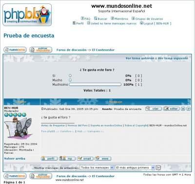 Los archivos tpl de phpbb - PHP-Nuke, phpBB y similares