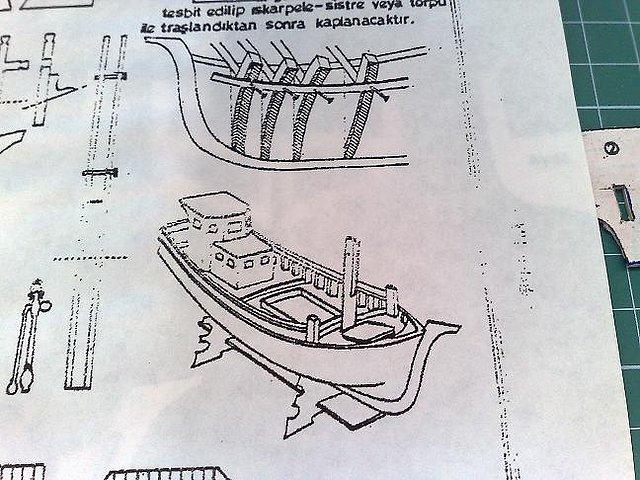 Maquetas y modelismo en papel taka turco 1 66 desde - Marqueteria planos gratis ...