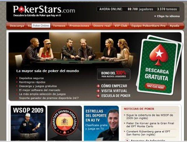 web poker stars - poker para bajar