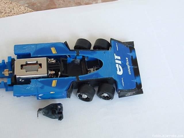 Tyrrell P34, dirección,