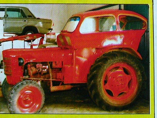 Un invento peculiar, el Seat 600 tractor 41d607fa