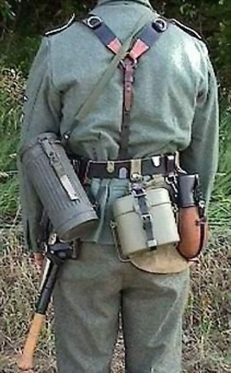 Soldado Alemán 2º Guerra Mundial