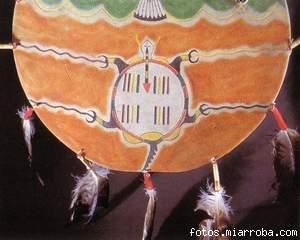 La Gran Madre Tortuga,dibujo cheyene
