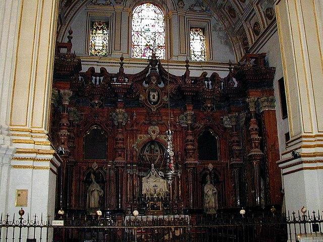 Ceremonia y r brica de la iglesia espa ola trascoros - Marmoles en valladolid ...