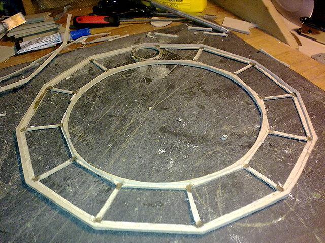 Warhammer aqu tablero modular combate urbano avances for Moldes hormigon impreso leroy merlin