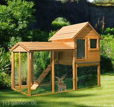 Casa para conejitos dise os arquitect nicos - Casa conejo ...