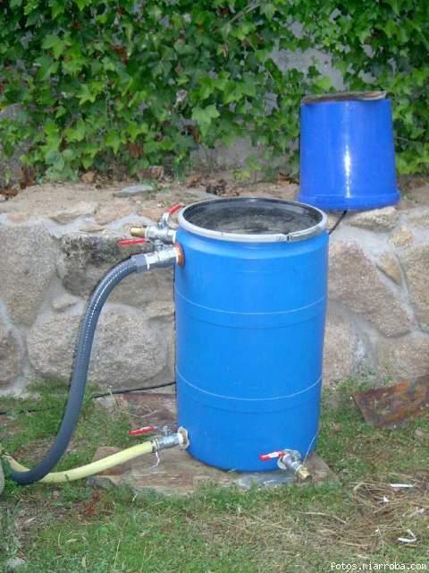 Bomba y filtro para charca o estanque de 300 litros for Filtro natural para estanque