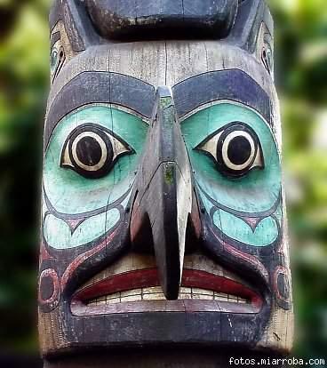TOTEM de los Suquamish